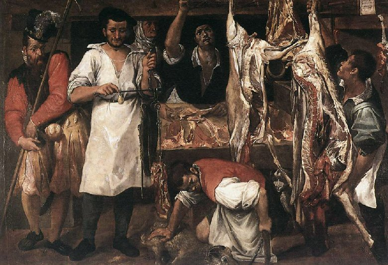 Carracci Butchers shop