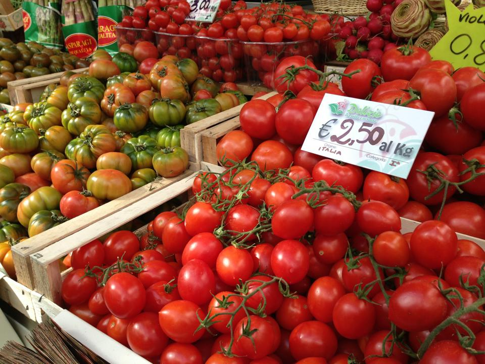 tomatoes italy