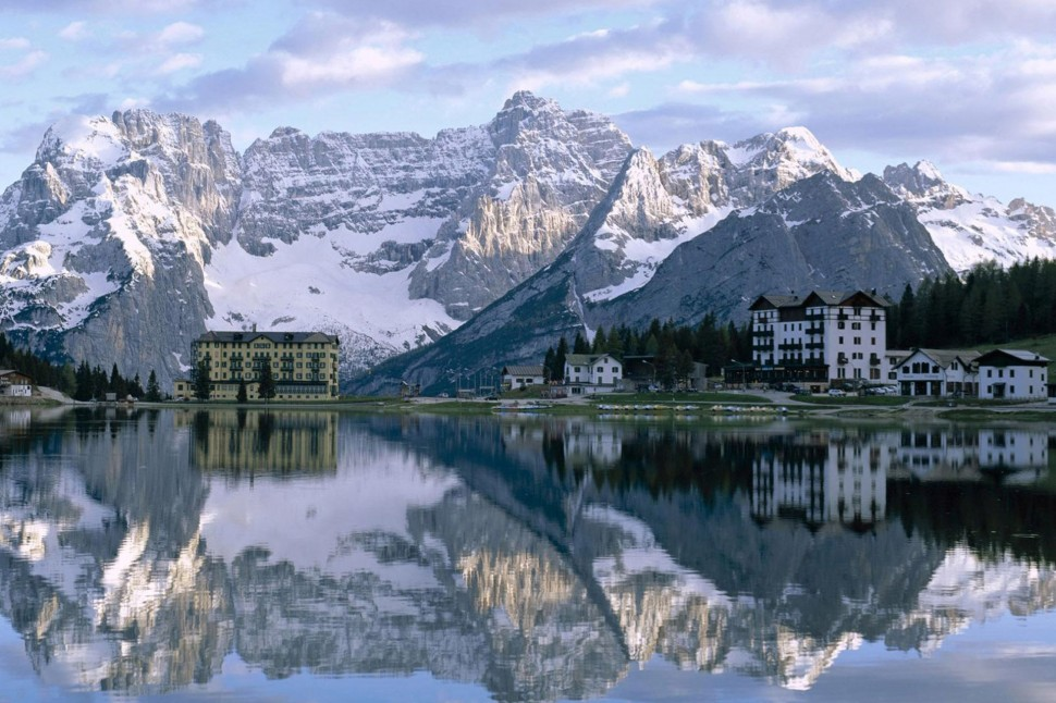 Lake Misurina Cadore Belluno