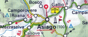 Asiago, Land of Cheese and Mountain Biking