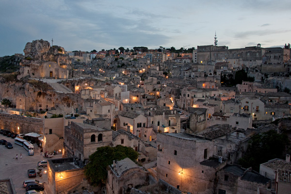 Travel guide to Basilicata Italy, city of Matera