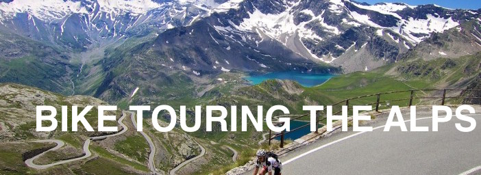 bike touring alps