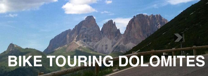 bike touring dolomites