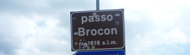 bike touring passo brocon