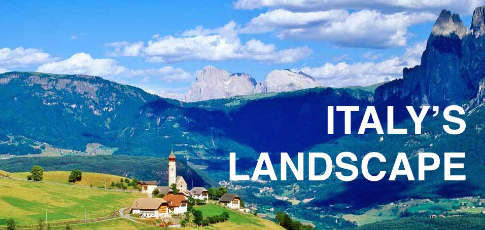 landscape of italy
