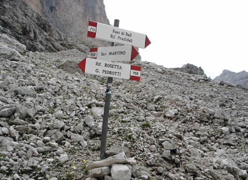 Hike Italy, Trail Marking and Signs