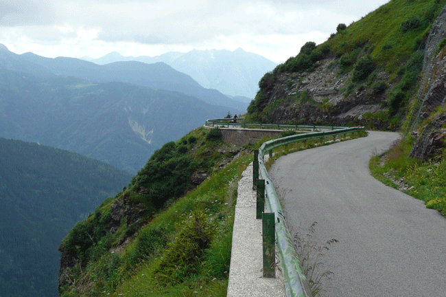 Bike Tour Italy, Monte Crostis