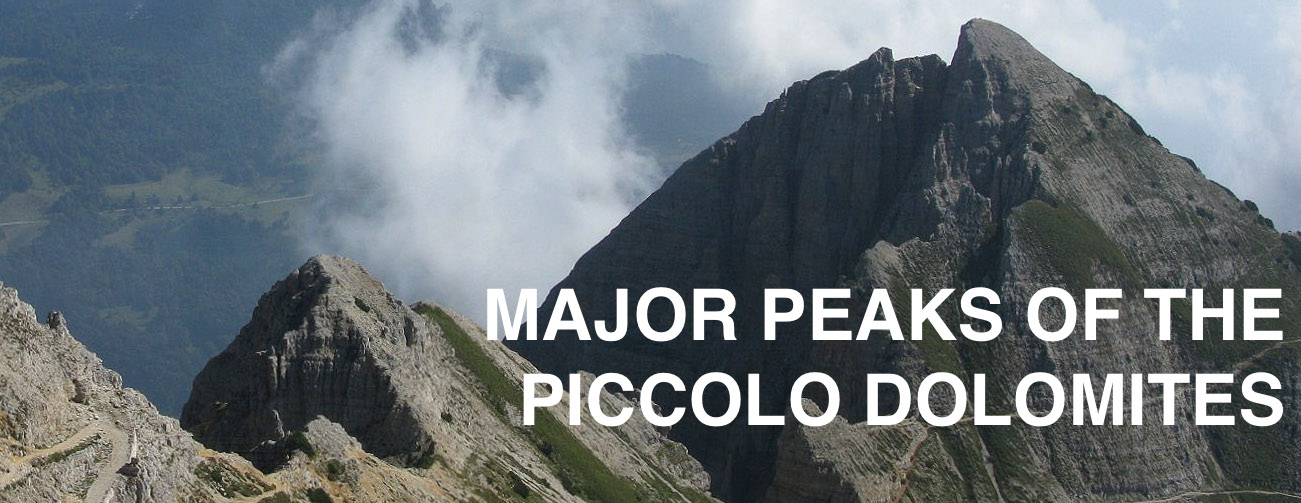 primary peak of piccolo dolomites