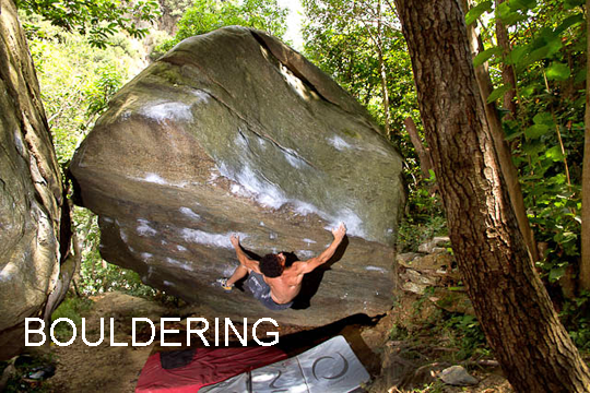 Bouldering in Italy