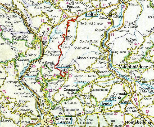 grappa descent seren map