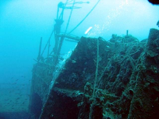 SCUBA Diving Italy, Haven Wreck