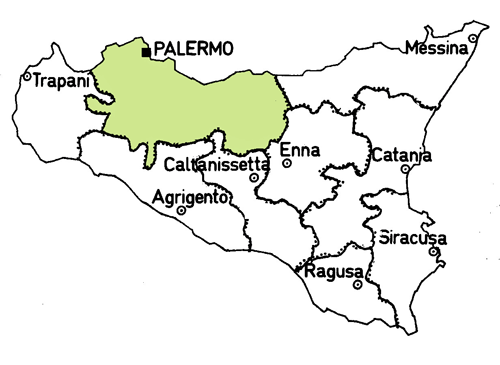 palermo-province-map