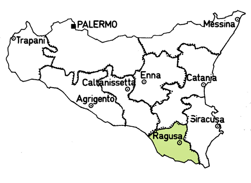 ragusa-province-map