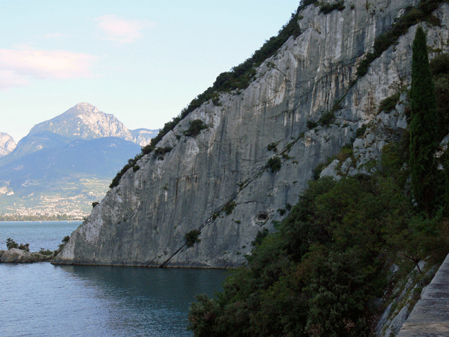 Spiaggia Lucertole Rock Climbing Site Italy