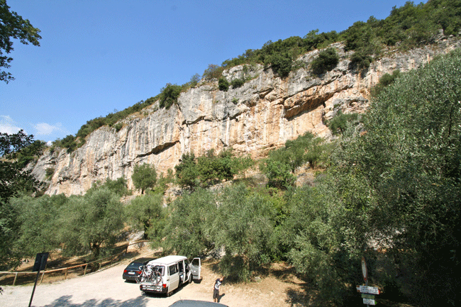 Massone, Arco Rock Climbing Area