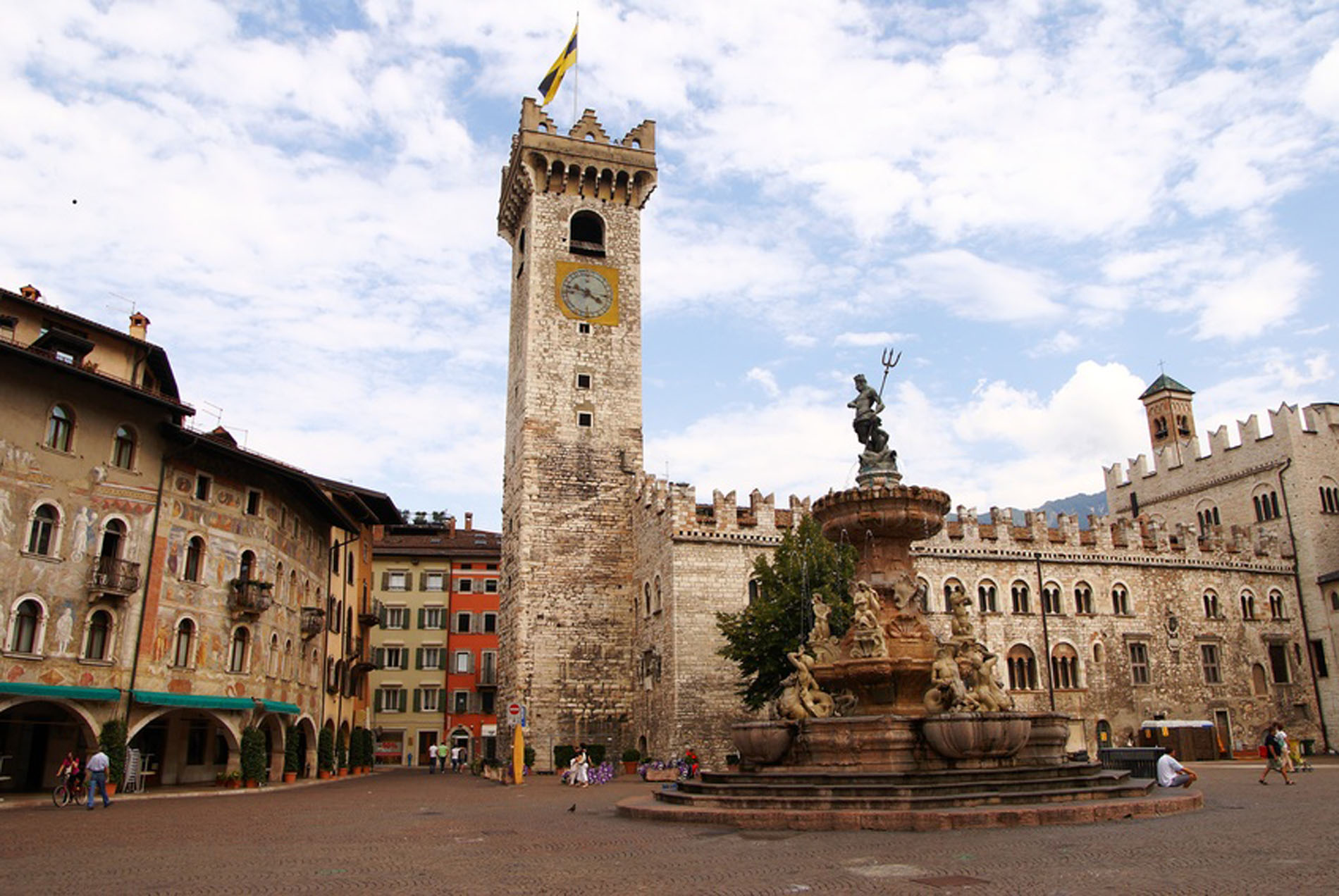 City of Trento in the Trentino Region