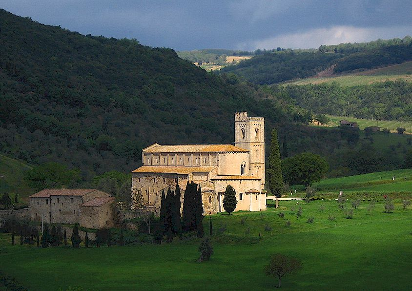 abbey of sant antimo
