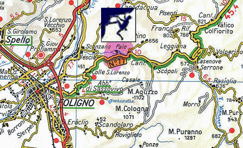 Rock CLimb Italy, Pale Climbing Map