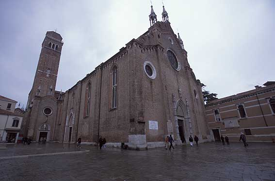 Frari Church Venice, Italy