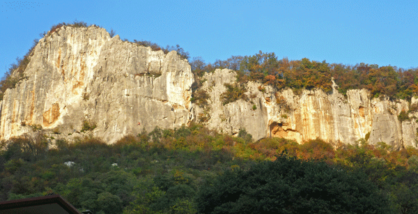 Photo of the Classic Sector of Lumignano Rock Climbing Italy